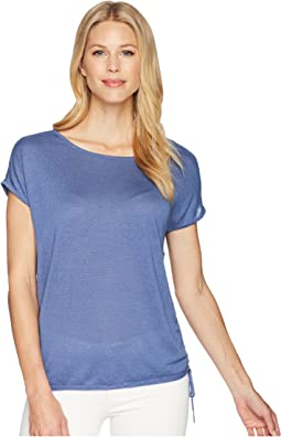 NIC+ZOE Refreshing Side Tie Top