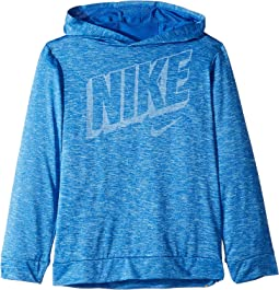 Dri-FIT™ Breathe Long Sleeve Hoodie (Little Kids)