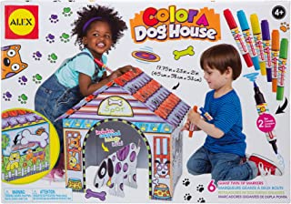 ALEX Toys Craft Color a Dog House Children's Kit