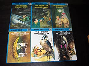 Hardy Boys 6 Volume Set (30-35): The Wailing Siren Mystery/The Secret of Wildcat Swamp/The Crisscross shadow/The Yellow Feather Mystery/The Hooded Hawk Mystery/The Clue in the Embers