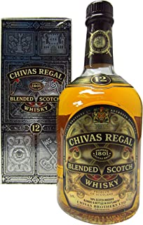 Chivas Regal 40 prozent 12 Jahre Blended Whisky 1 x 1 l