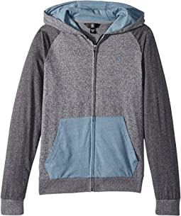 Volcom Kids - Wowzer Hooded Zip Hoodie (Big Kids)