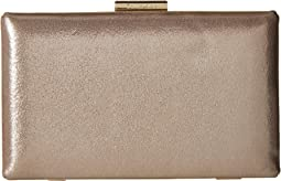 Dusted Suede Box Clutch