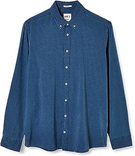 HKT by Hackett Hkt Indigo Texture Camisa para Hombre
