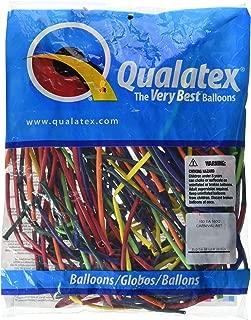 Qualatex 99320.0 160Q Carnival Entertainer Latex Balloon, 1 x 60 Inches, Multicolor