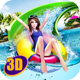 Water Park Slide: Uphill Rush | Extreme Water Slide Amusement Park Tycoon Swimming Water Tube Game