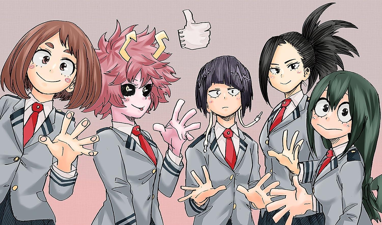 My 販売期間 限定のお得なタイムセール Hero Academia 評判 Poster Print Anime Wall Girls Decoration Po Art
