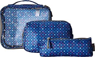 Travelon 3 Piece Toiletry Packing Set, Diamond Sparkle, One Size