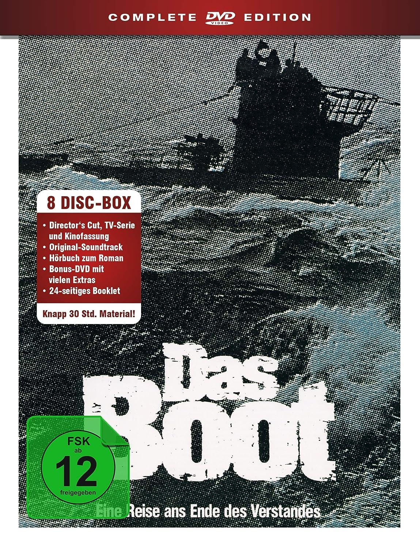 Das Boot - Complete 4 years overseas warranty Edition zum Hörbuch Original-Soundtrack R