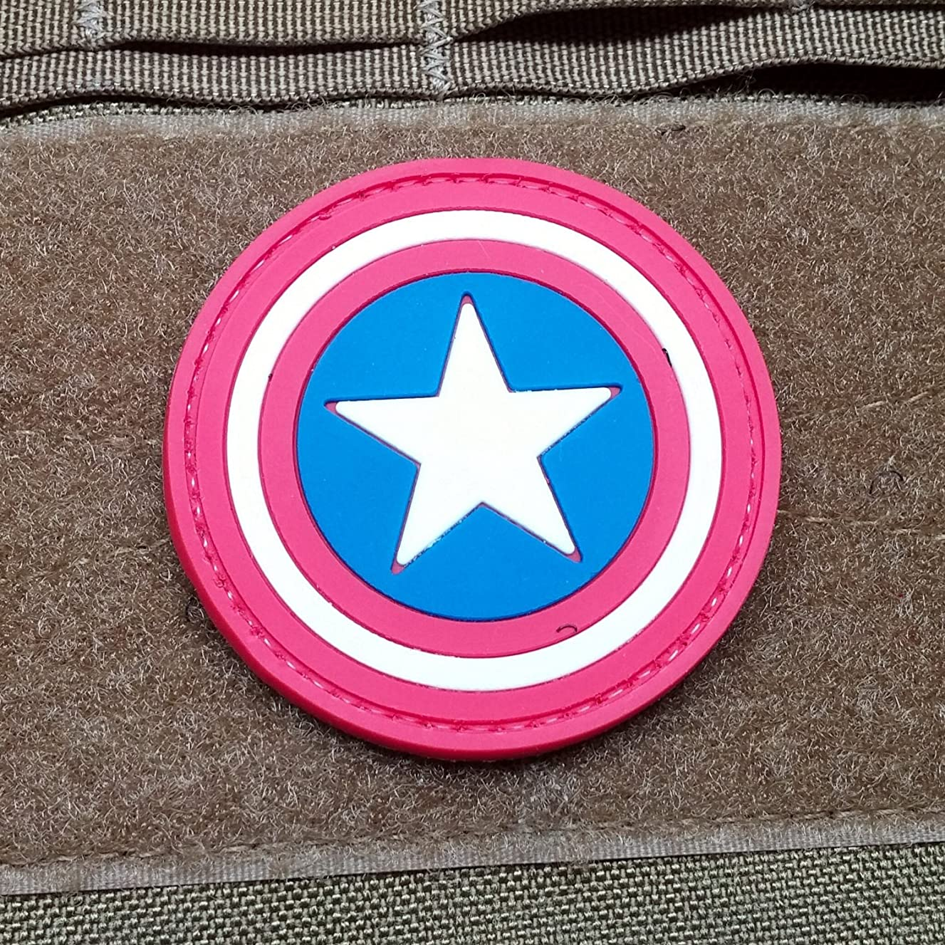 NEO Tactical Gear Captain America Morale Patch PVC