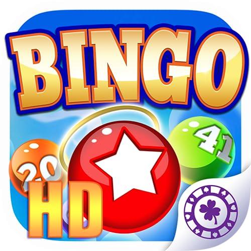 Bingo Cielo +: HD BINGO JUEGO para Android y Kindle! Descarga y juega el mejor estilo clásico Casino aplicación juego de bingo DELUXE. Ahora con Jackpot y Torneos! Nuevo para el 2015! (Funciona sin conexión - no hay internet o wifi es necesario)