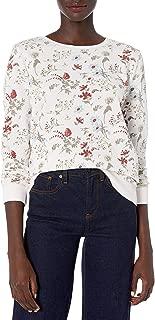 Women's Floral Printed Sweatshirt