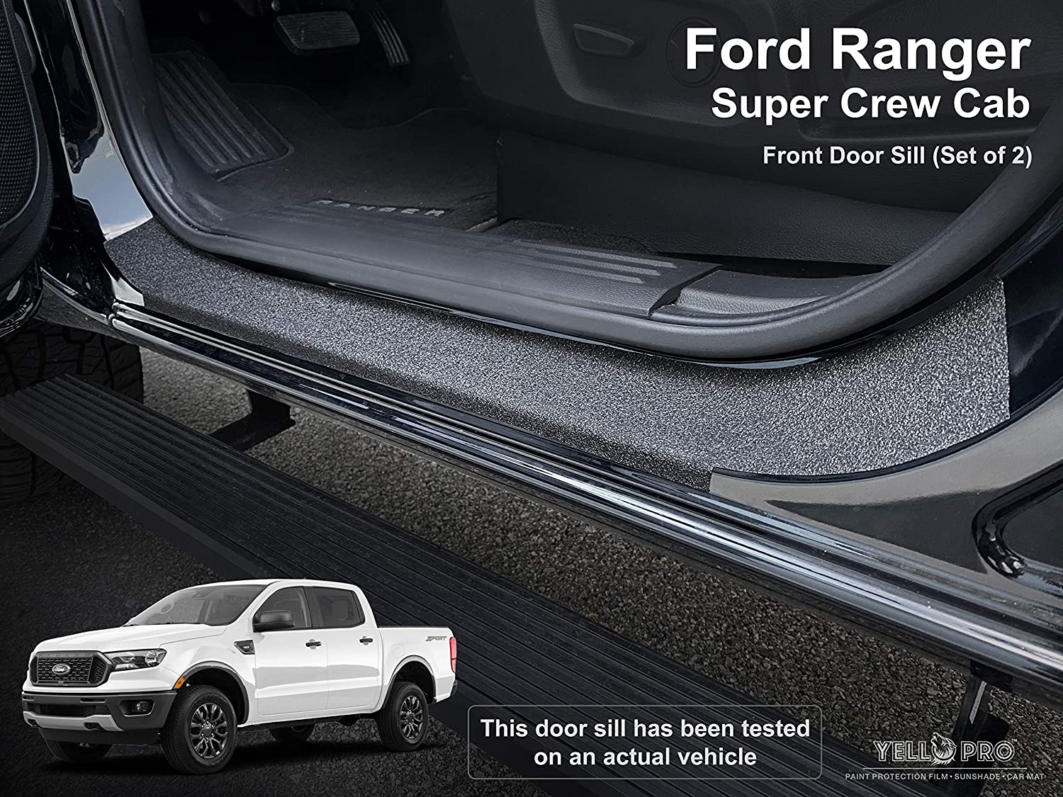Custom Fit Door Sill Entry National uniform free shipping Protector New York Mall C Super Ford Kit Ranger for