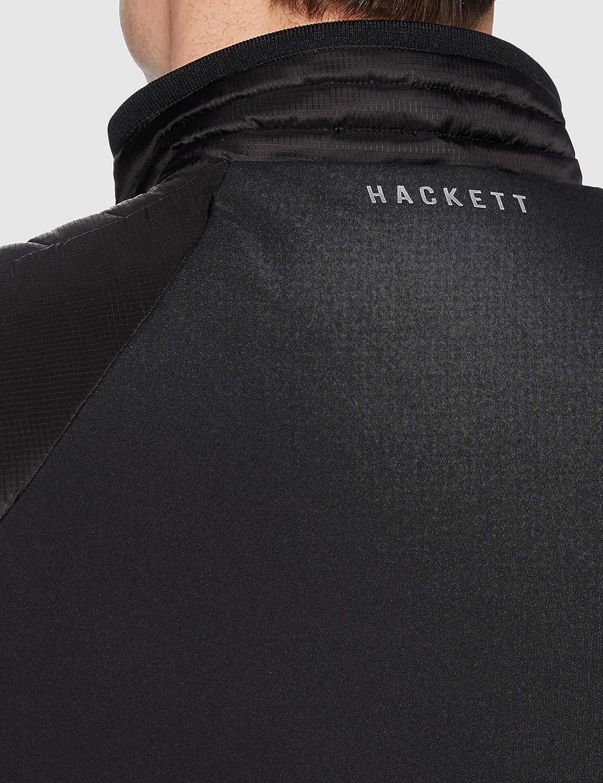 Hackett London Mens Amr Apex Moto Gilet Jacket