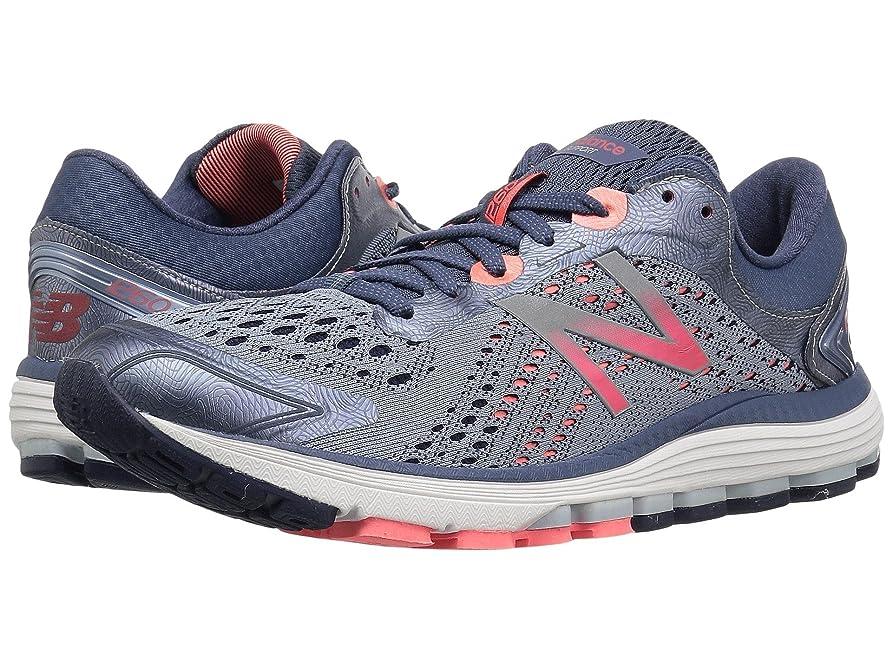 割り当てるゆるく警察署(ニューバランス) New Balance レディースランニングシューズ?スニーカー?靴 1260 V7 Reflection/Vintage Indigo/Vivid Coral 7.5 (24.5cm) B - Medium