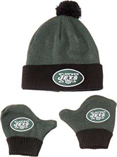 NFL Infant OTS Pow Pow Knit Cap & Mittens Set