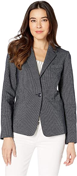 Novetly Stripe One-Button Jacket