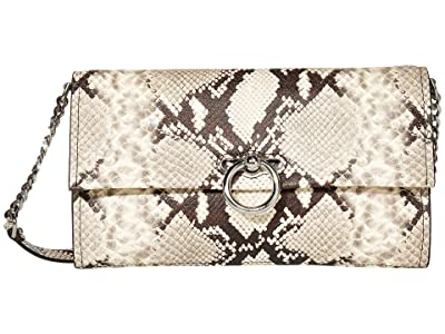 Rebecca Minkoff Jean Convertible Clutch (Natural) Handbags