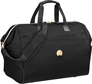 Delsey Paris Montrouge 50 Cabin Duffle Bag Travel Duffles, Black (00201841000)
