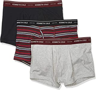 Kenneth Cole New York Men's Cotton Stretch Trunk, 3 Pk