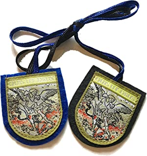 St. Michael Large Shield Scapular