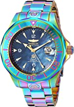 Invicta Men's Pro Diver Automatic-self-Wind Watch with Stainless-Steel Strap, Multi, 1 (Model: 23943)
