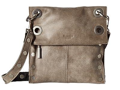 Hammitt Montana Rev Medium (Black/Pewter/Brushed Silver) Cross Body Handbags