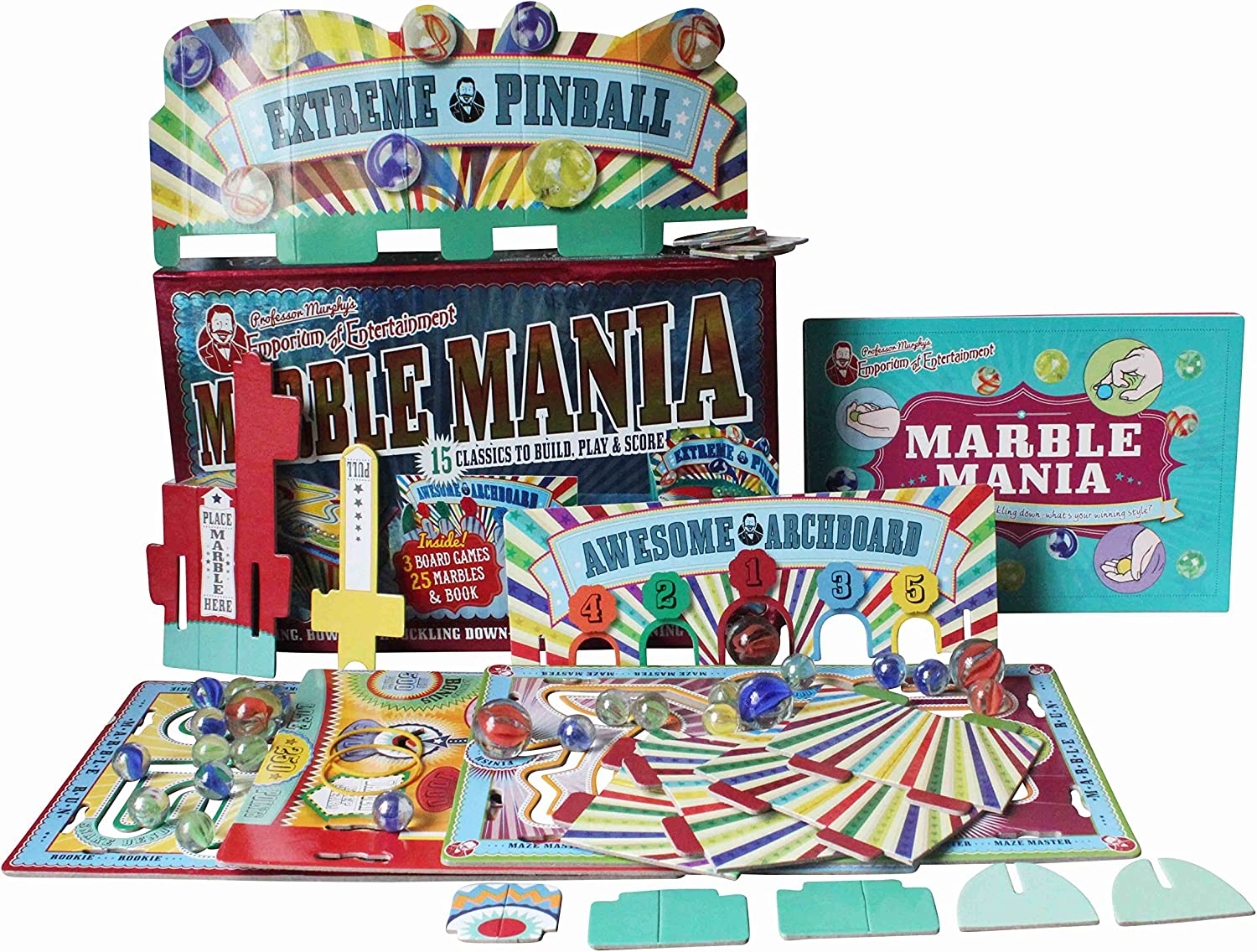 House of Marbles   Professor Murphy's Marble Mania Box Set