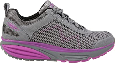 MBT Woman 702012 Leather/mesh Cross-Trainer-Shoes