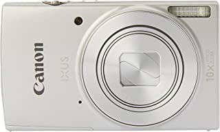 Canon IXUS 190 Digital Camera(IXUS190S) 2.7 Inch display,Silver (Australian warranty)