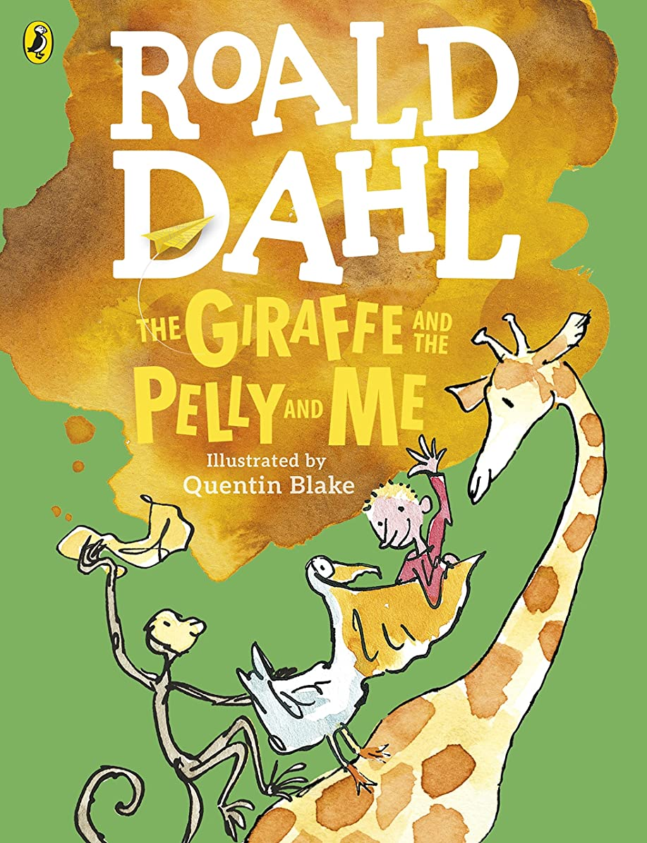 少し却下する彫るThe Giraffe and the Pelly and Me (Colour Edition) (Dahl Colour Editions) (English Edition)