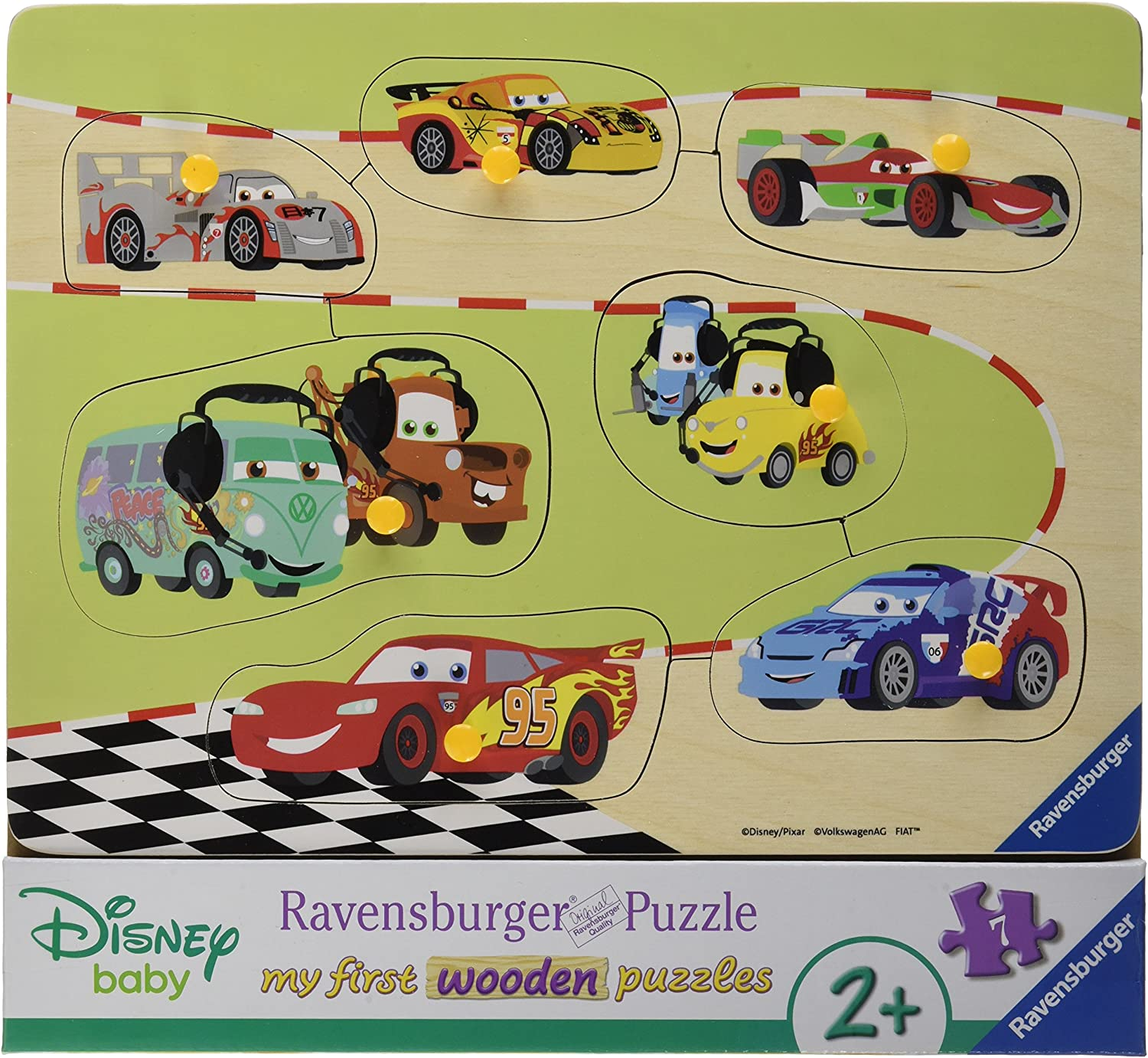 Ravensburger Puzzle 03686The Cars Family