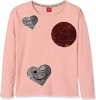 Tom Tailor Sweatshirt Kinder T-Shirt Langarm schwarz Pailletten Größe 164  Neu