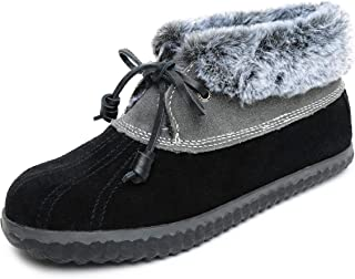 Sperry Women's Pile-Lined Duck Slipper, 8, M, Black