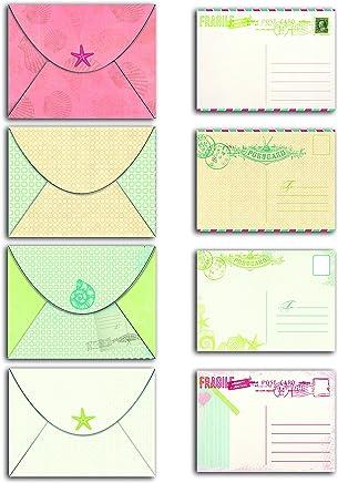 82mm YoungRich 144 Pi/èces Mini Enveloppes Multi Couleur Mignon Enveloppes Thanksgiving Cartes De Souhait Doux Multi-usage Enveloppes pour Faire-part De Mariage De No/ël 12 Couleurs 117