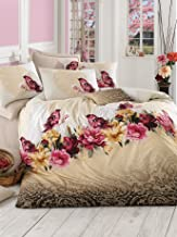 Pearl Home Ranforce Single Quilt Cover Set - 140 x 200 cm, Duvet Cover and Pillow Case