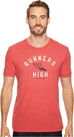 Life is Good - Runners High Cool Tee