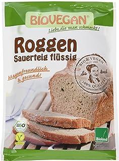 Bio Vegan Natursauerteig Roggen flüssig Bio Backzutat, 10er Pack 10 x 150 ml