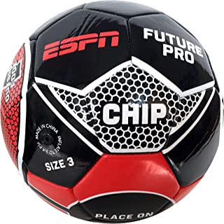 ESPN Future Pro Soccer Ball, Black