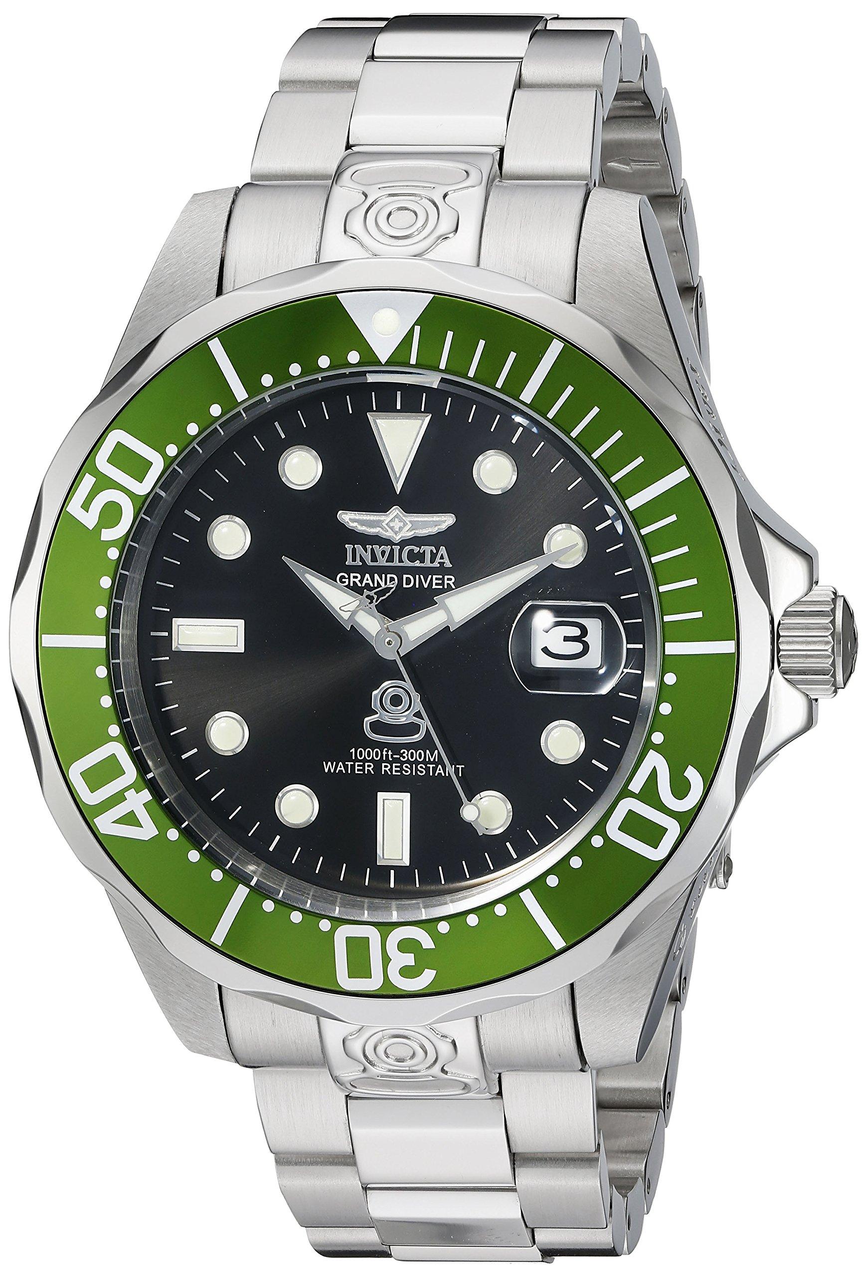 Invictaメンズ3047 Pro DiverシリーズGrand Diver自動腕時計