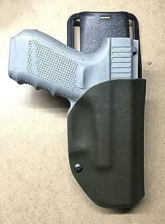 VLTactical Kydex OWB Holster for for Glock 17/22/31/19/23/32/26/27 with Leather Lnside