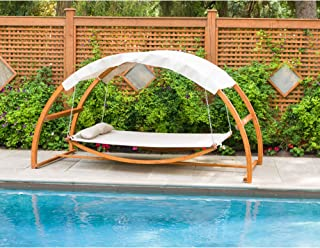 Best leisure season patio swing bed with canopy Reviews