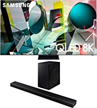 "Samsung QN85Q950TS 85"" QLED Ultra High Definition HDR Smart 8K TV with a Samsung HW-Q60T Wireless 5.1 Channel Soundbar and..."