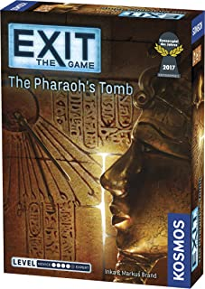 Thames & Kosmos Exit The Game The Pharaoh's Tomb Strategy Game