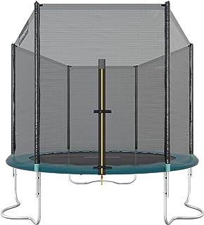 Ultrasport Cama elástica de jardín Jumper, Set de trampolin, Incl. Superficie de Salto, Red de Seguridad, Postes Acolchados para la Red y Revestimiento para Borde