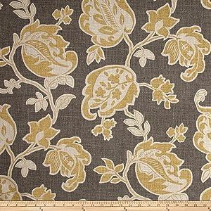 Magnolia Home Fashions Arabella Fabric, Yard, Barley