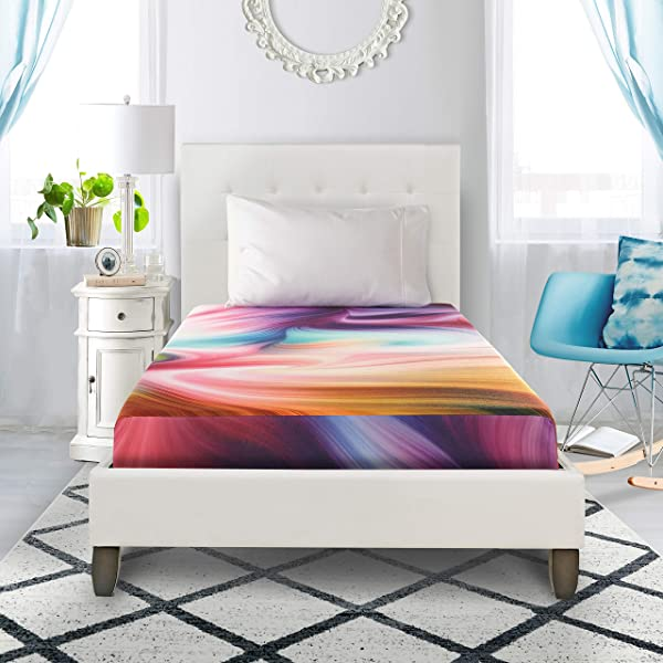Groove Tie Dye Memory Foam Mattress 5 Twin