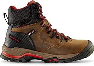 "Zion Men's 6"" Earth Brown Waterproof Work Boot"