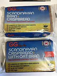 GG SCANDINAVIAN CRISPBREAD VARIETY-5 CRISPBREAD, 5 OAT BRAN