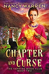 Chapter and Curse: A Paranormal Women's Fiction Cozy Mystery (Vampire Book Club 2) (English Edition) Format Kindle
